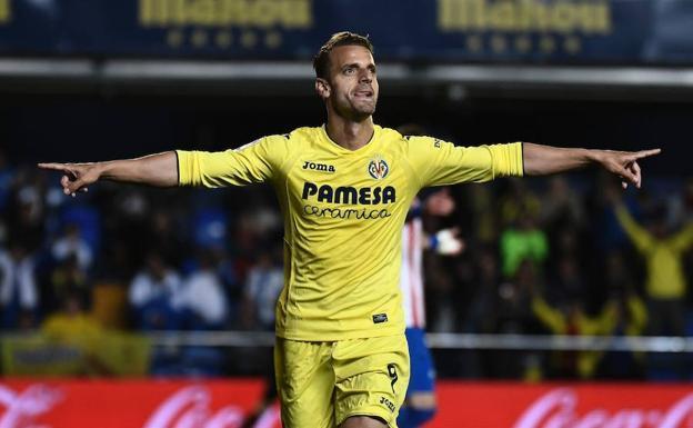 Roberto Soldado en Villarreal
