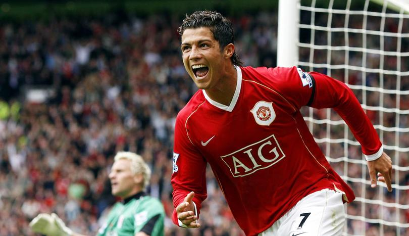 Ronaldo en United