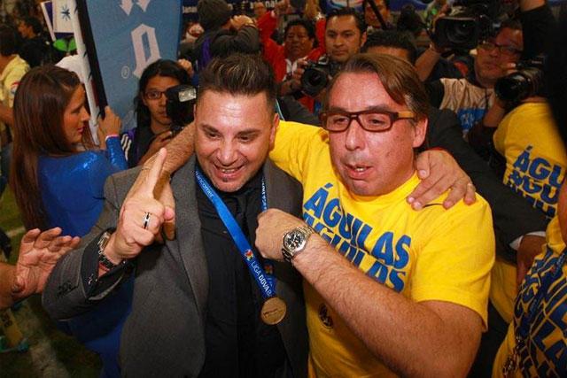 Emilio Azcárraga y Antonio Mohamed