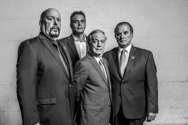 José Ramón Fernández, Enrique Bermúdez, David Faitelson, Raúl Orvañanos
