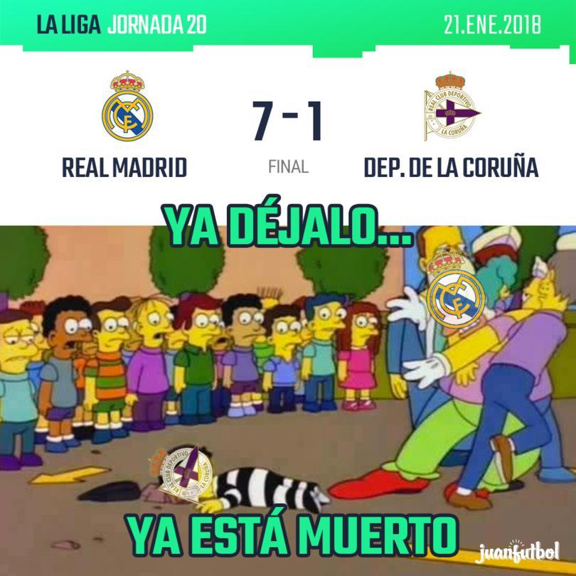 Real Madrid vs. Dep. de la Coruña