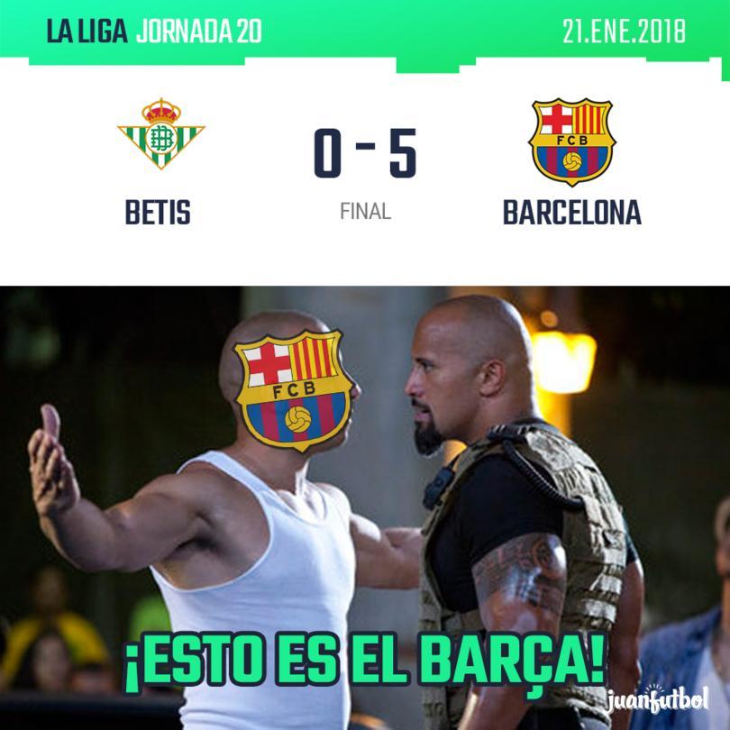 Betis vs. Barcelona