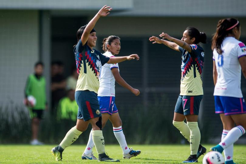 América vs Cruz Axul femenil