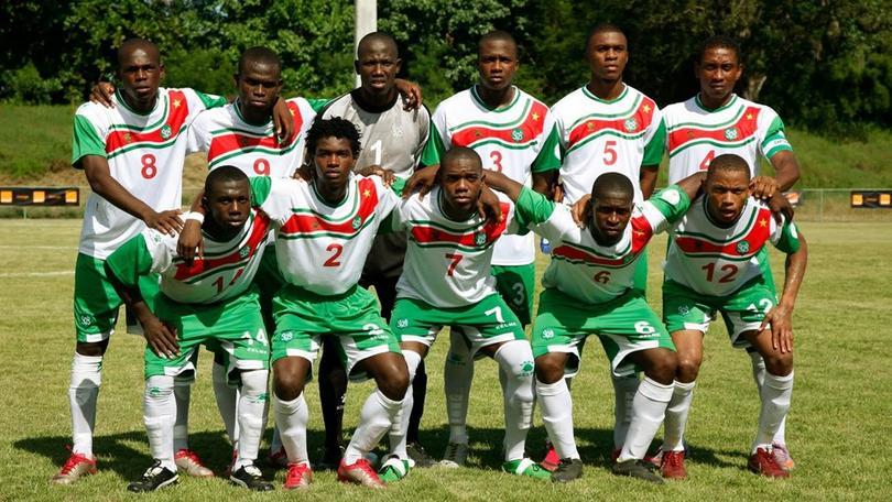 Selección Surinam