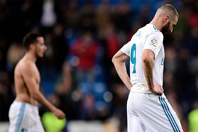 Benzema después de ser eliminados