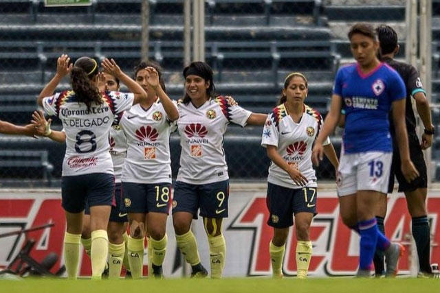 América vs Cruz Azul Femenil