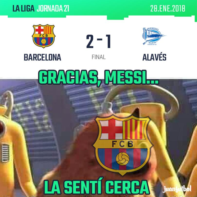 Barcelona vs. Alavés