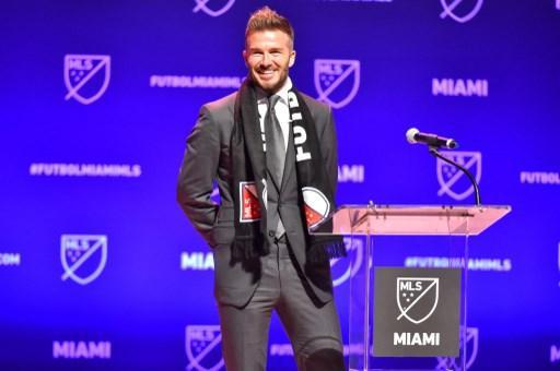 Beckham tendrá su franquicia en Miami
