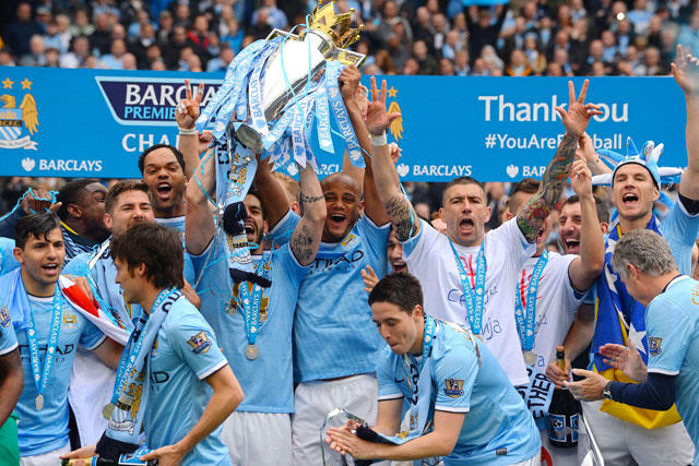 Manchester City campeón de la Premier League