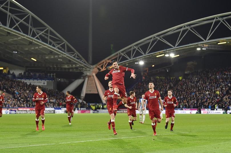 Liverpool golea a domicilio al Huddersfield Town