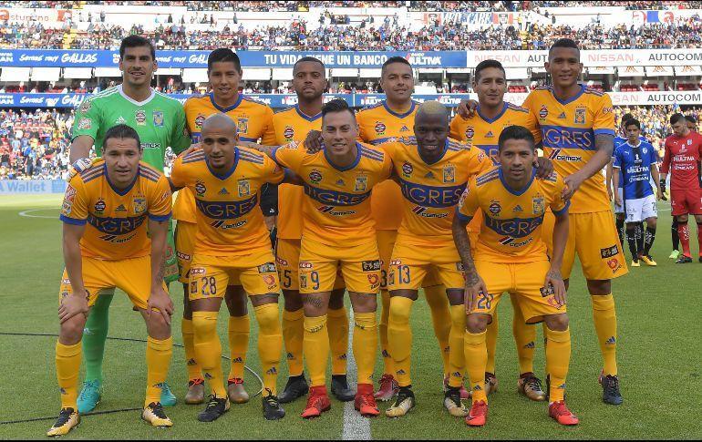 Once inicial de Tigres contra Querétaro