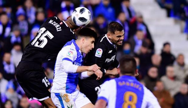Leganés vs Sevilla en Butarque.