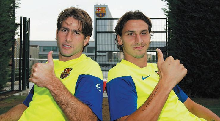 Maxwell y Zlatan