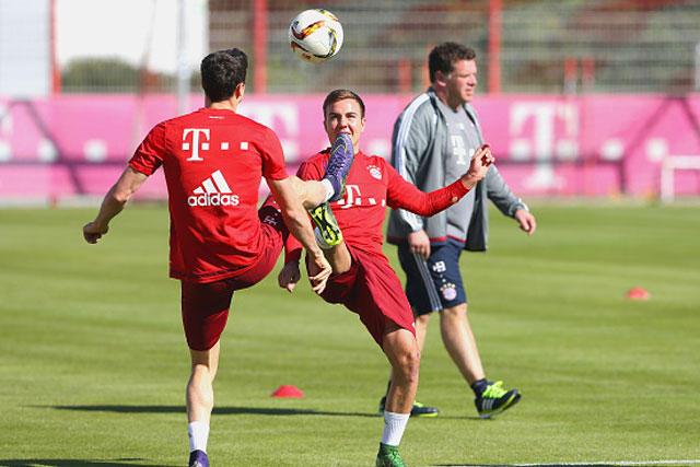 Lewandowski y Gotze