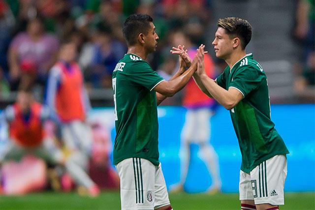 Elías Hernández y Jonathan González