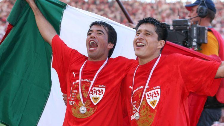 Pavel Pado y Ricardo Osorio