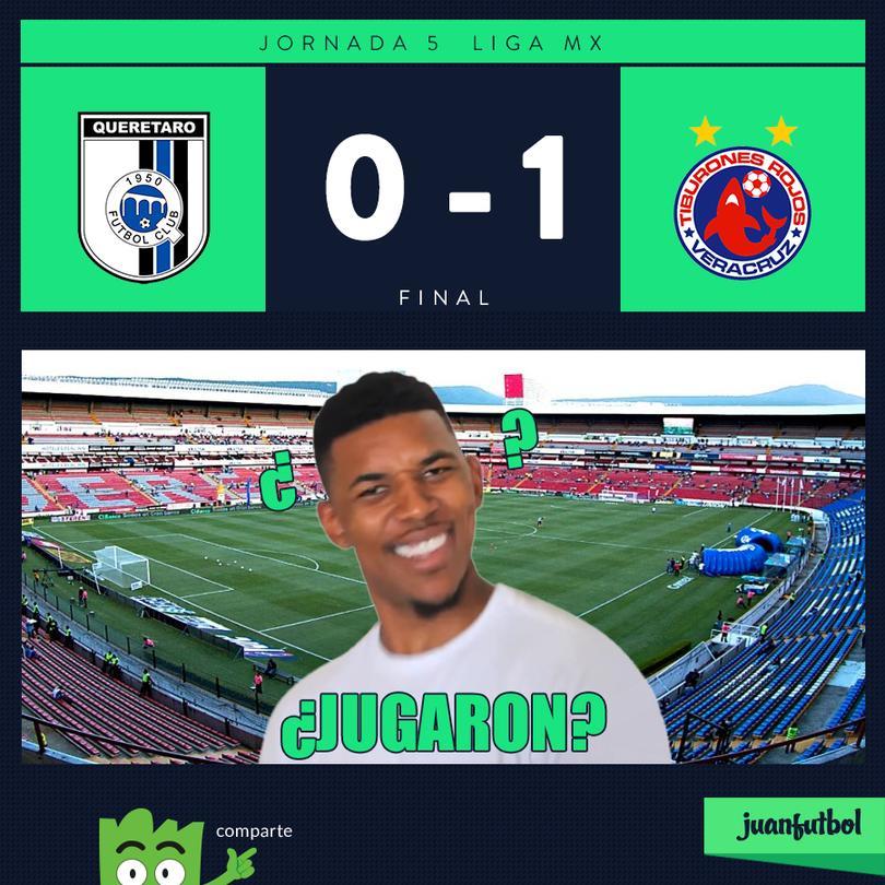 Querétaro 0-1 Veracruz
