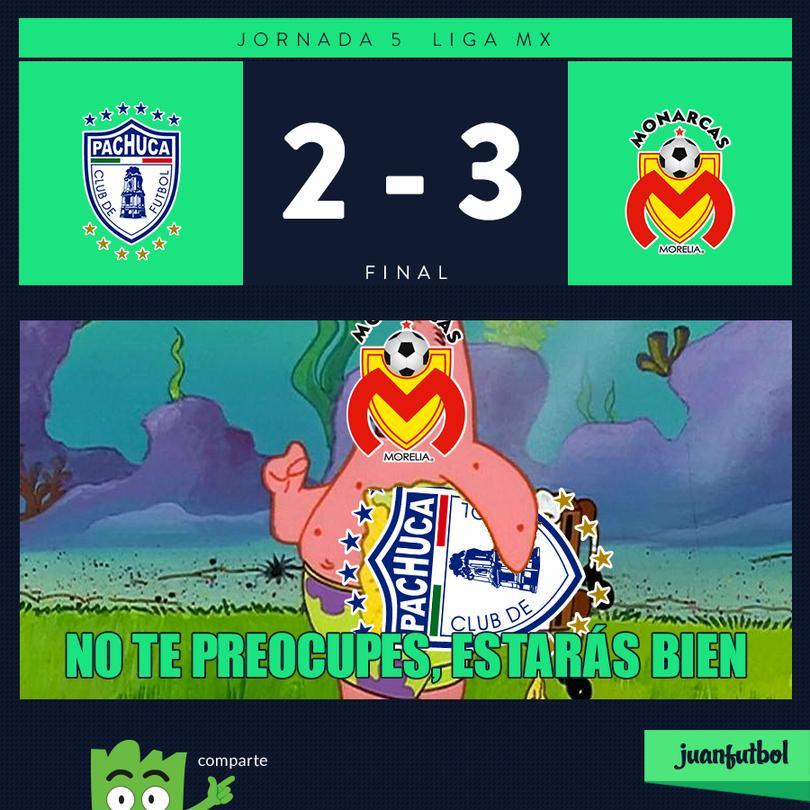Pachuca 2-3 Morelia