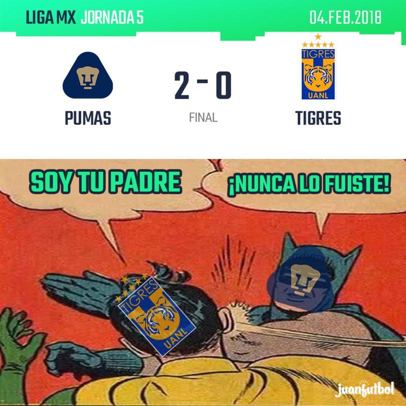 Pumas vs. Tigres
