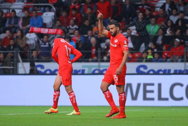 Toluca venció 2-0 a Santos