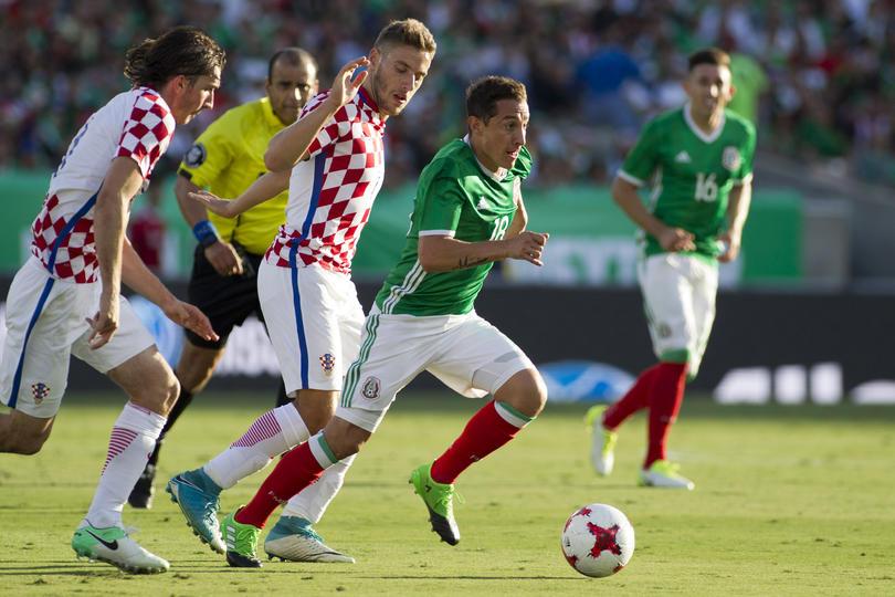 México jugará contra Croacia en marzo