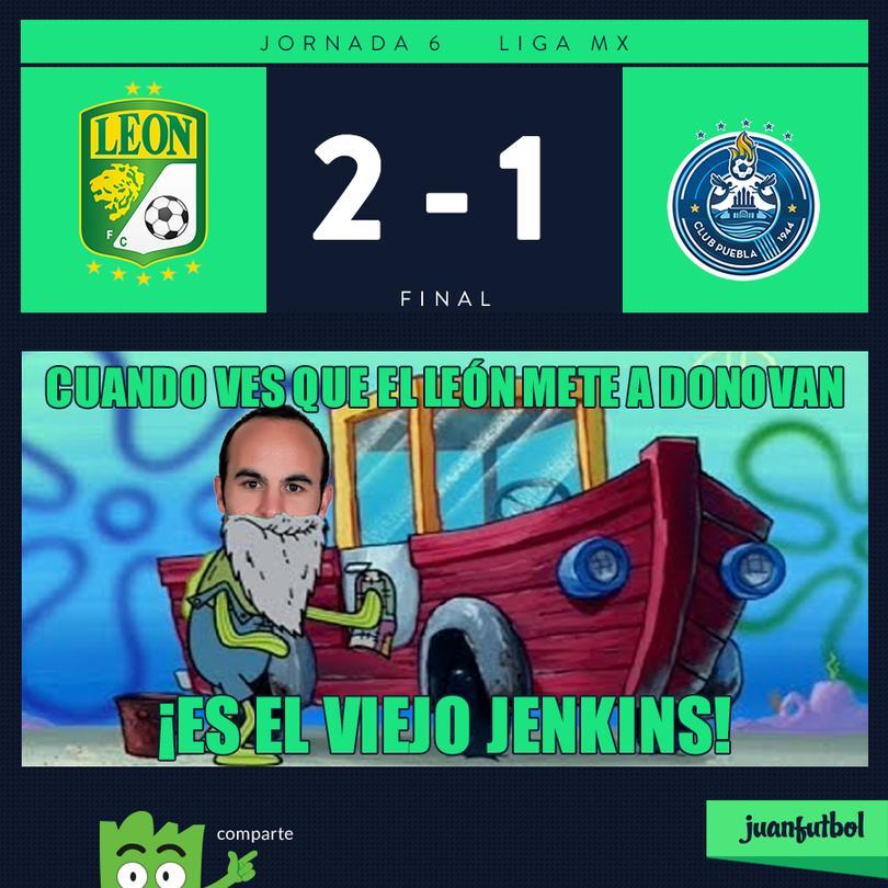 León vuelve a ganar y de paso debuta Donovan