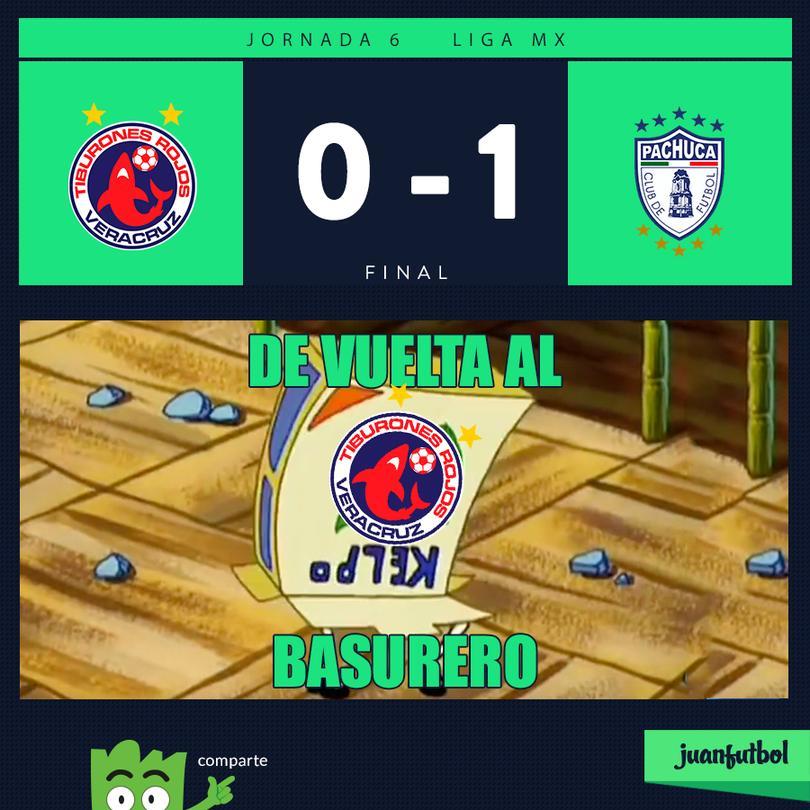 Veracruz 0-1 Pachuca
