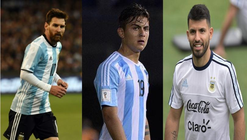Messi, Dybala, Agüero