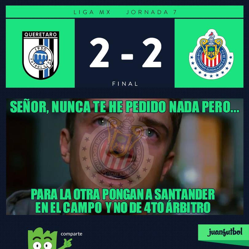 Querétaro 2-2 Chivas