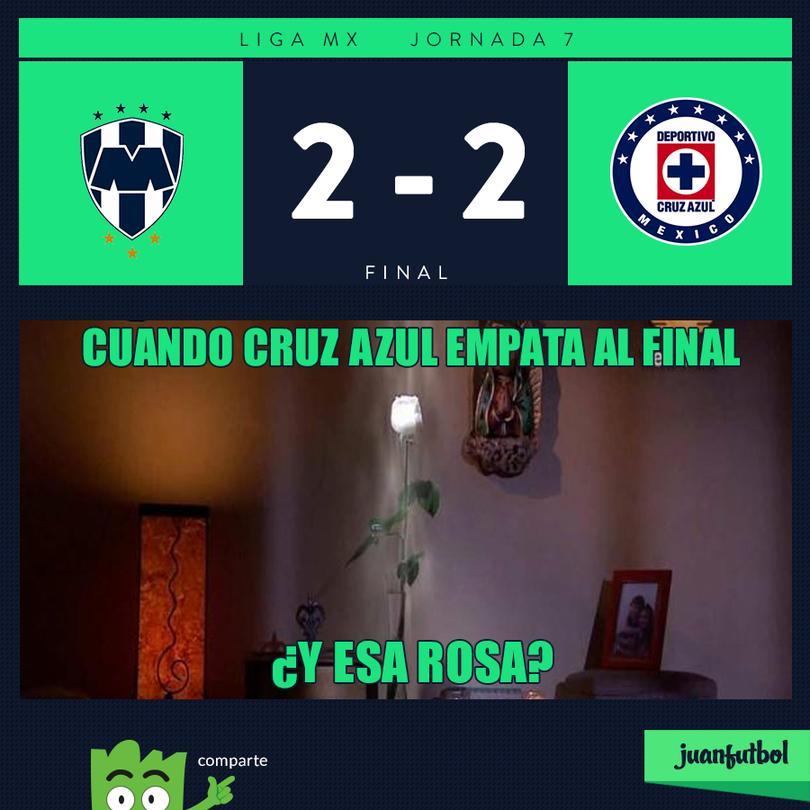 Monterrey 2-2 Cruz Azul