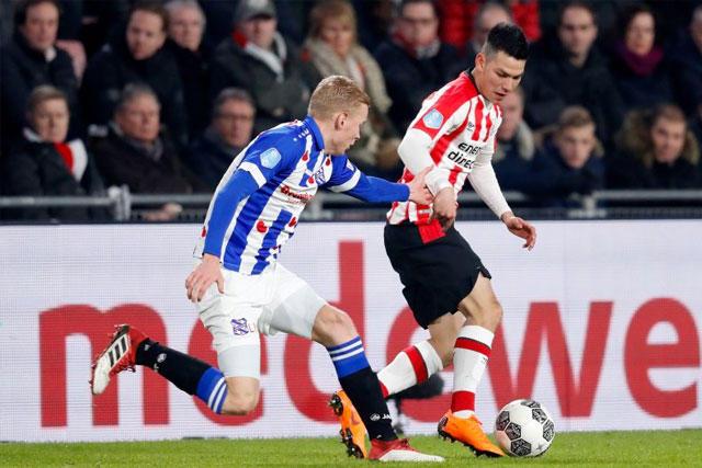 Chucky Lozano vs Heerenveen