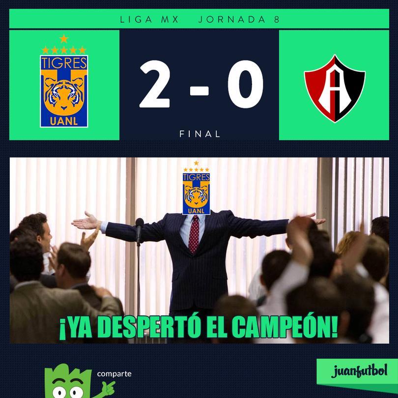 Tigres 2-0 Atlas