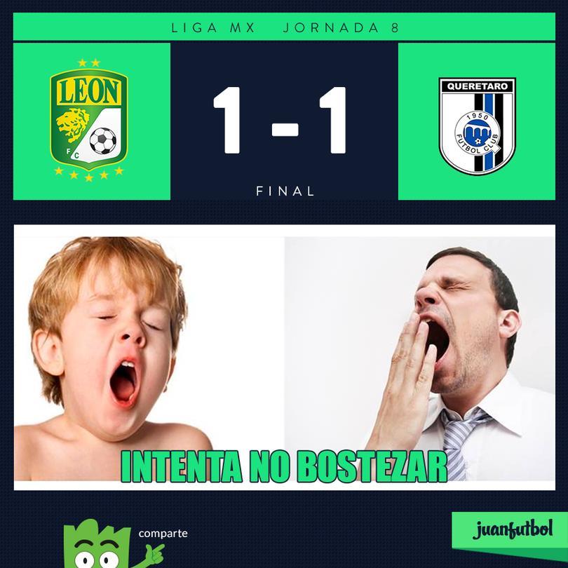 León 1-1 Querétaro