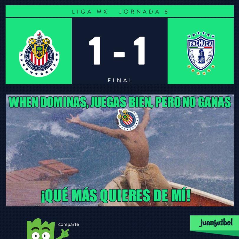 Chivas 1-1 Pachuca