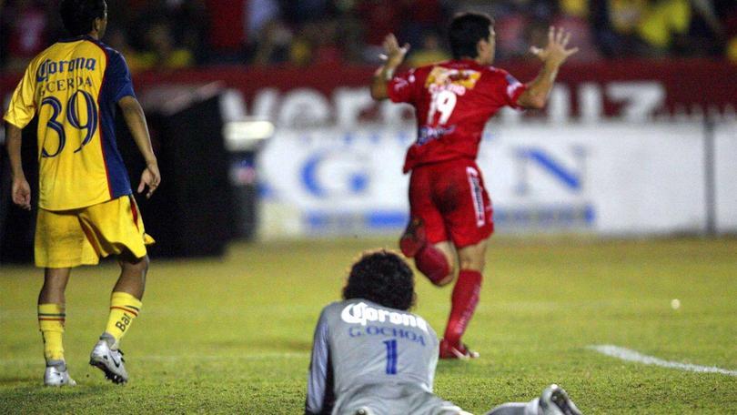 Veracruz golea al América
