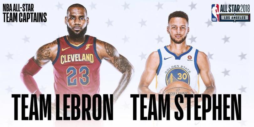 Los capitanes de ambos equipos