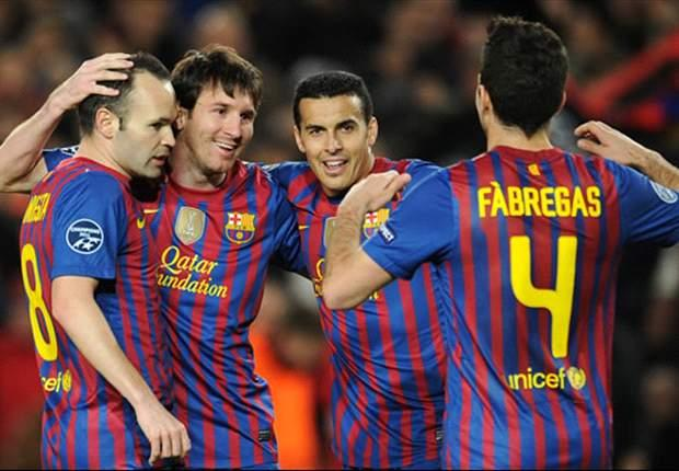 Inistea, Messi Pedro y Fabregas