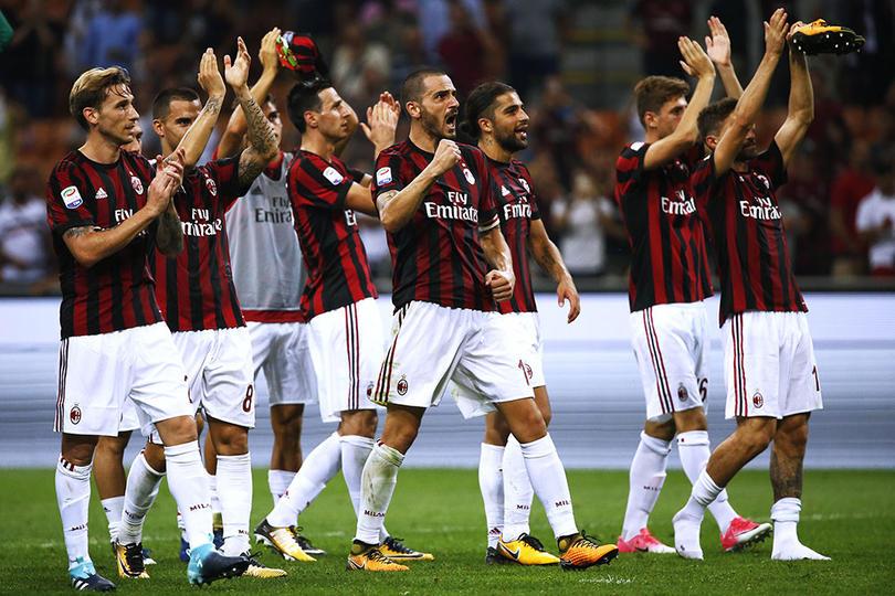 AC Milan se clasifico sin problemas a los octavos de final de la Europa League