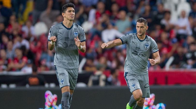 Nico Sánchez celebra su gol