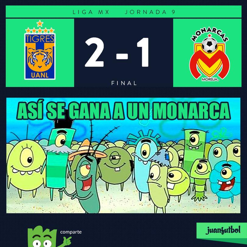 Tigres 2-1 Morelia