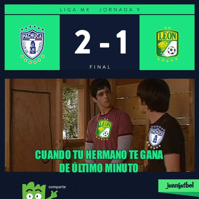 Pachuca 2-1 León