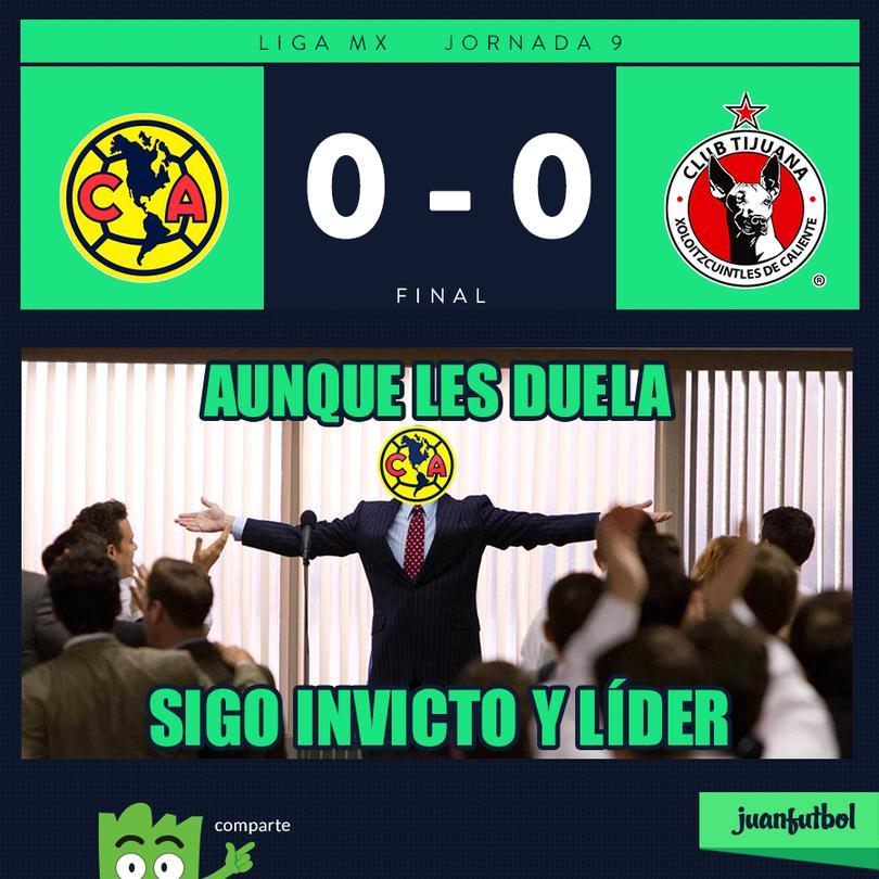 América 0-0 Tijuana