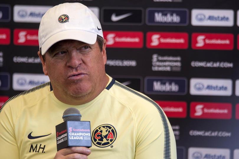 el América goleó 5-1 al Saprissa en ida de los octavos de la Concachampions