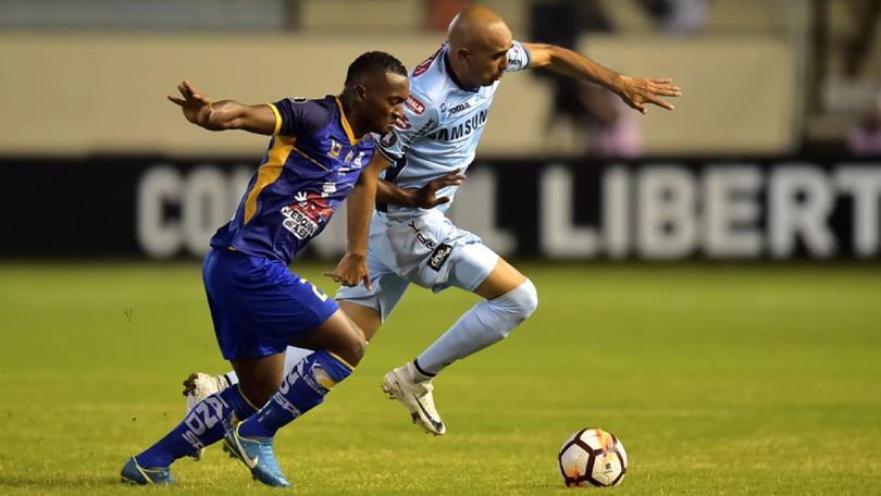 El Delfín debutó ayer en Copa Libertadores