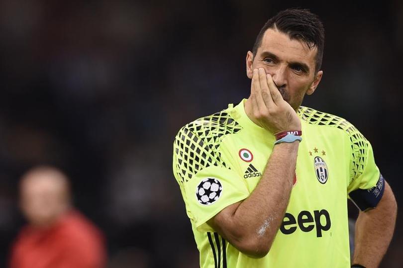 Buffon tras la derrota ante el Madrid