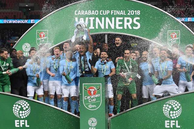 Manchester City campeón de la Carabao Cup 2018