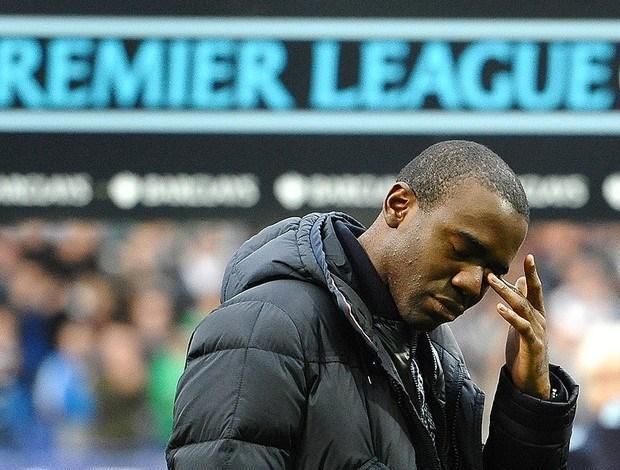 Fabrice Muamba despidiéndose del futbol