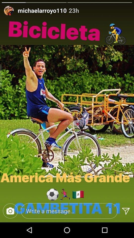 Michael Arroyo mandó un mensaje a los aficionados del América.