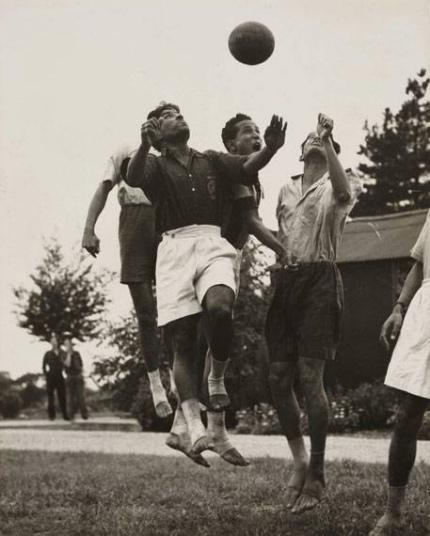 Entrenamiento en la India en 1948