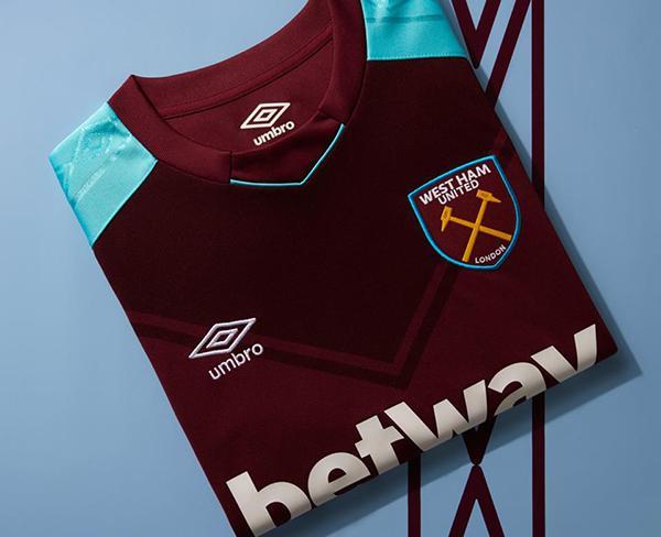 Umbro te regala cinco jerseys del West Ham